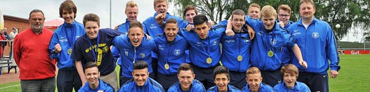 B Jugend mit letztem Saisonspiel