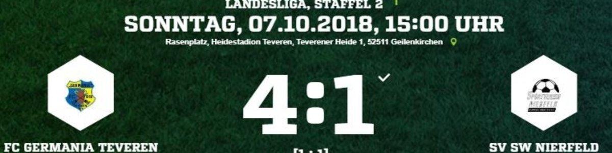 Germania I gegen SV Nierfeld