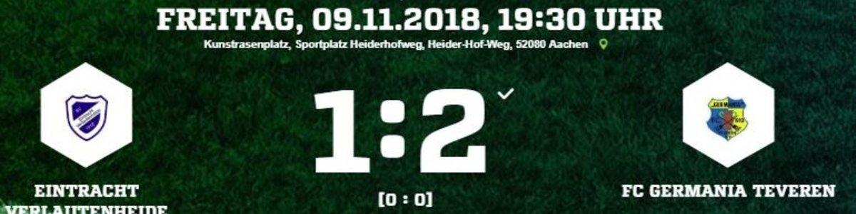 Germania I gewinnt beim starken Aufsteiger Verlautenheide