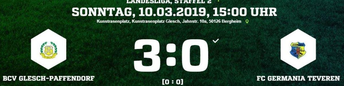 Doppelschlag nach der Pause entscheidet das Spiel beim BCV Glesch-Paffendorf