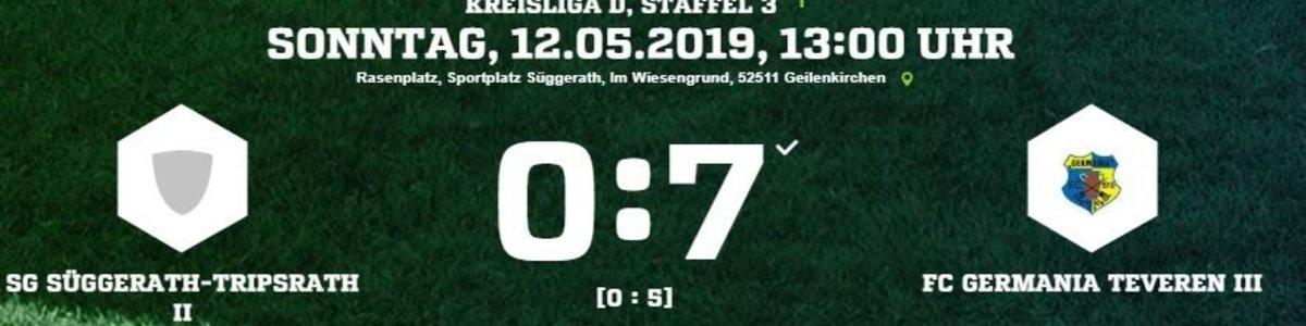 Germania III nach 7:0 in Süggerath/Tripsrath weiter im Aufstiegsrennen