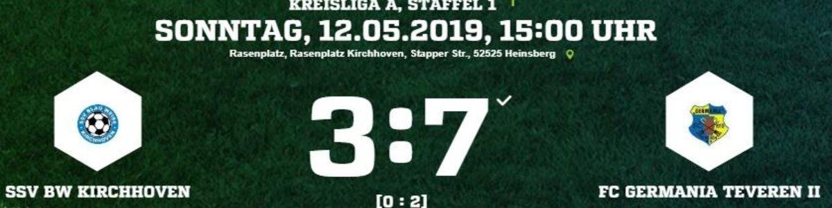 Germania II macht mit dem 7:3 in Kirchhoven großen Schritt