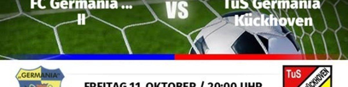 Eintracht II verliert gegen Absteiger Kückhoven unglücklich 1:2