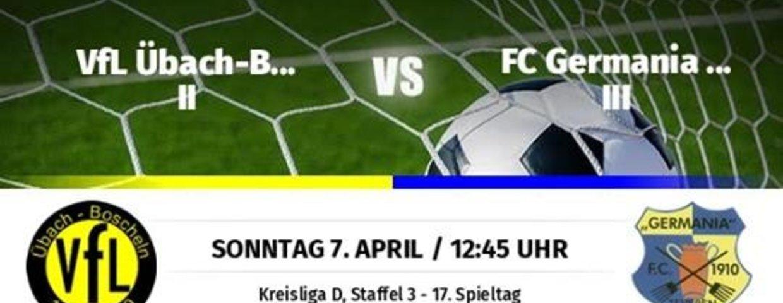 Germania II im Nachholspiel in Boscheln 5:0 erfolgreich