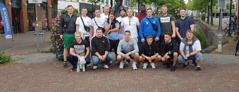 2. Mannschaft auf Abschlussfahrt in Friesland