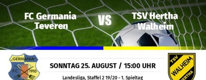 Germania startet mit Heimspiel gegen Walheim in die Saison 2019/2020