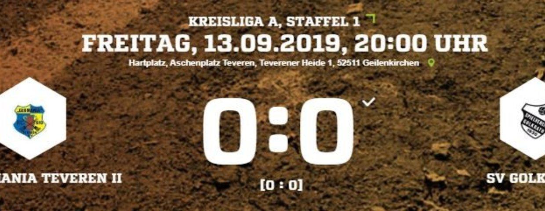 Keine Tore im Spiel Germania II gegen Golkrath