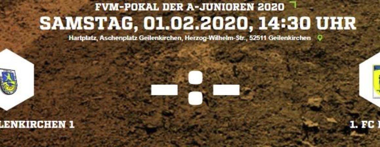 Germania A-Jugend am 01.02. im Verbandpokal gegen den 1.FC Düren