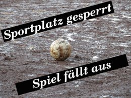Spiel in Frelenberg ausgefallen