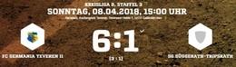 Keine Probleme für Germania II beim 6:1 gegen Süggerath/Tripsrath