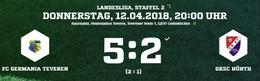Germania springt nach dem 5:2 auf Platz 8