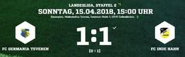 Germania I gegen Inde/Hahn 1:1