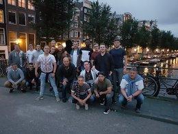 Saisonabschlussfahrt Germania II nach Amsterdam