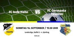 Germania I unterliegt beim Schlusslicht Inde/Hahn deutlich 1:5