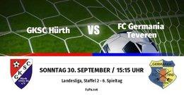 Germania I verliert in Hürth 0:2 und rutscht auf Platz 13 ab