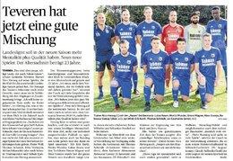 Trainingsauftakt der Germania - Bericht aus der Heinsberger Zeitung