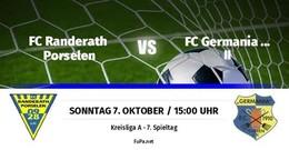 Germania II verliert in Randerath/Porselen 1:3