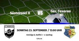 Germania III gewinnt 1:0 in Süsterseel