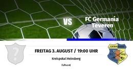 Germania trifft im Pokal auf Waldenrath/Straeten