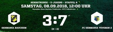 GermaniaE2-Ergebnis
