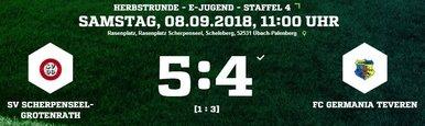 GermaniaE-Ergebnis